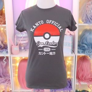 Pokémon Kanto Official Gym Leader Tee